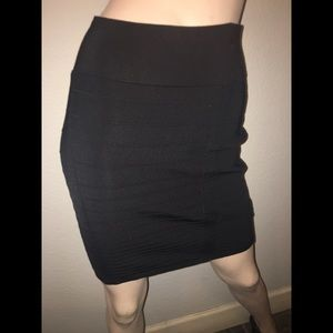 Rock & Republic black mini skirt. Size large. NWOT